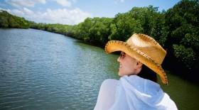 BLM-woman-boat
