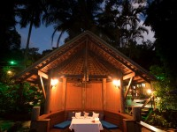 Private dining, offering world class fine dining service... in the Daintree Rainforest